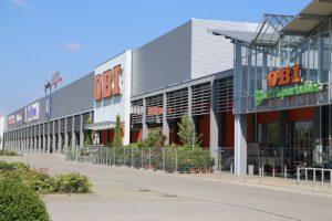 Einkaufszentrum Incenter Landsberg