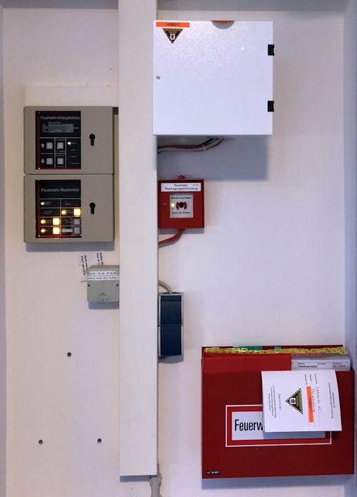 FAT FBF und Wählgerät inklusive der Feuerwehrlaufkarten