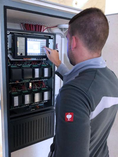 Inspektion / Wartung Bosch Brandmeldeanlage