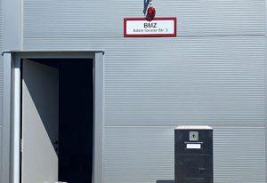 Installation Brandmeldeanlage Bosch FPA1200 in einer Lagerhalle