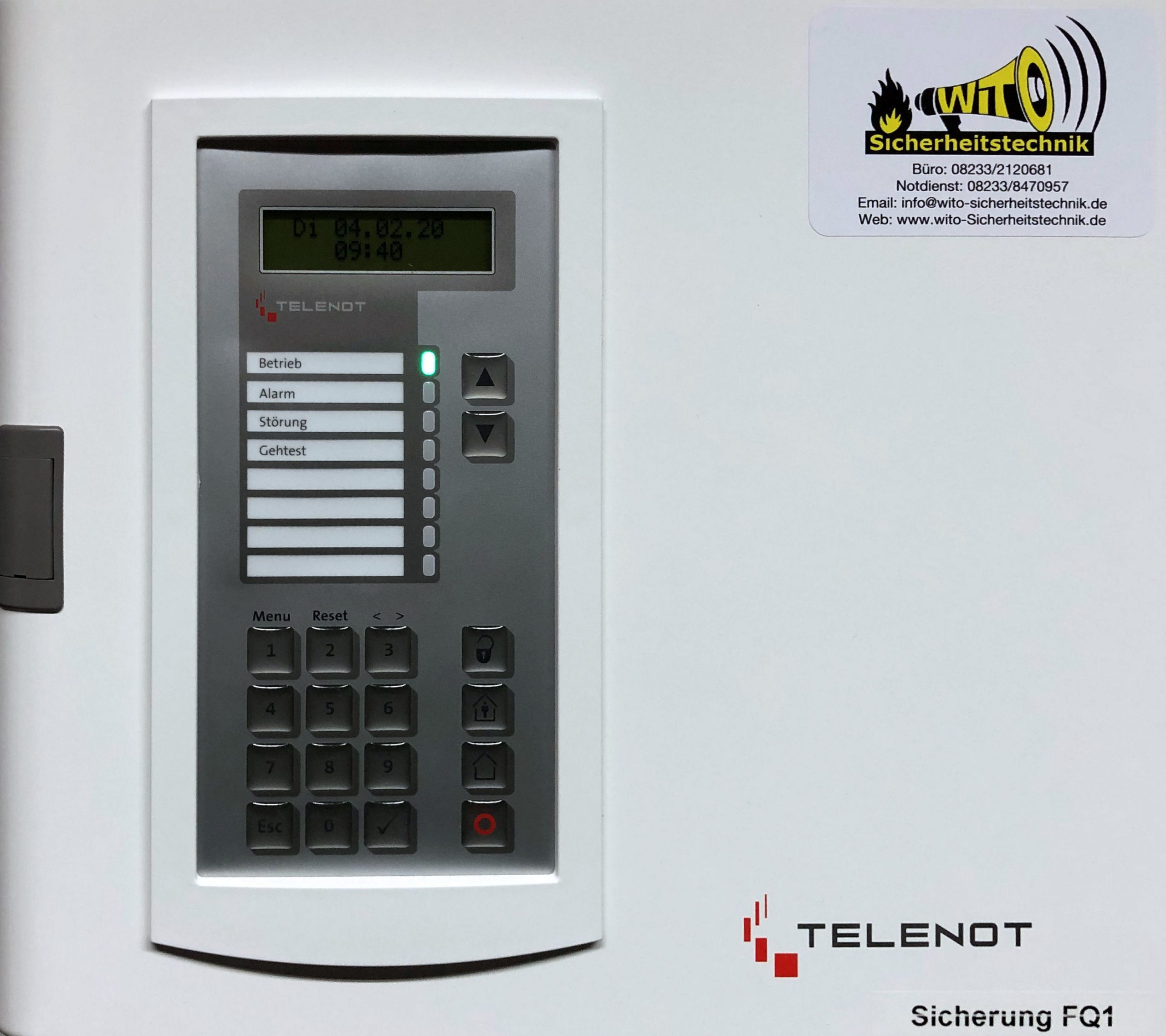 Telenot comfire Alarmanlage